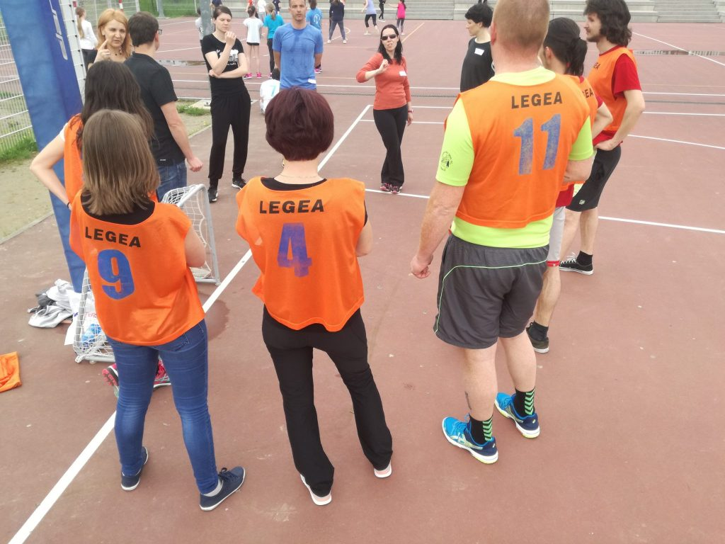 Ulični nogomet na OŠ Koper. Vir: Isa institut