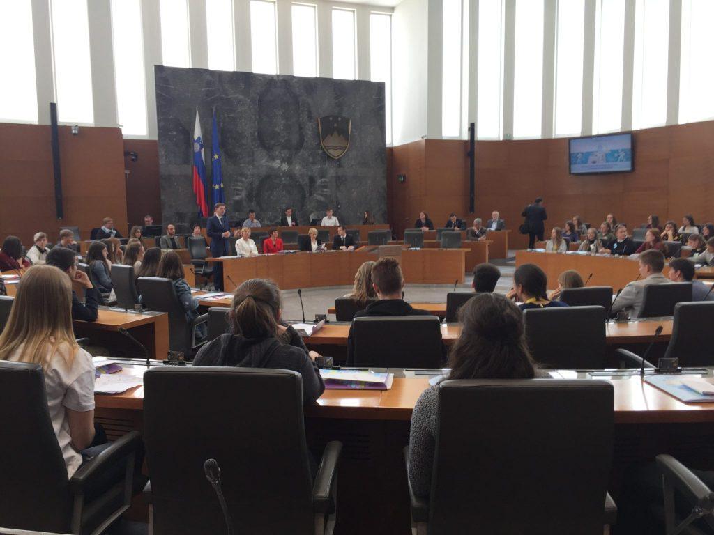 28. otroški parlament. Foto: Sonja Merljak/Časoris