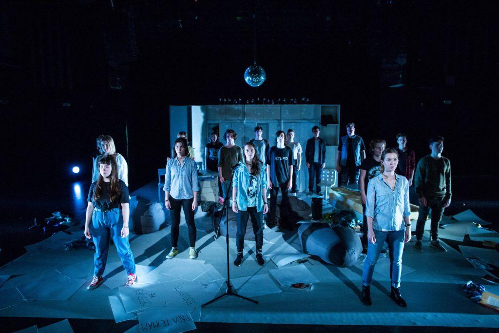 Predstava Vihar v glavi. Foto: Matej Povše/Arhiv LGL