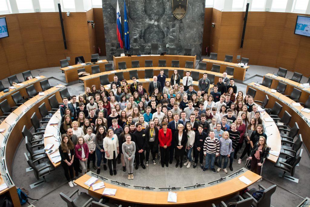 28. Otroški parlament. Foto: Rok Dolenc