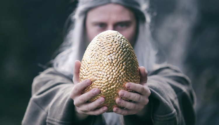 Skrivnost zmajevega jajca. Vir: Ljubljanski grad