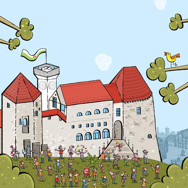 8. grajski dnevi. Vir: Ljubljanski grad