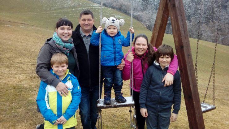 Družina Stropnik. Foto: Arhiv družine Stropnik