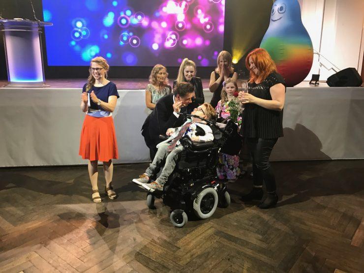 Kristjan, nagrada Prix Jeunesse Unicef. Vir: Infodrom/RTVSLO