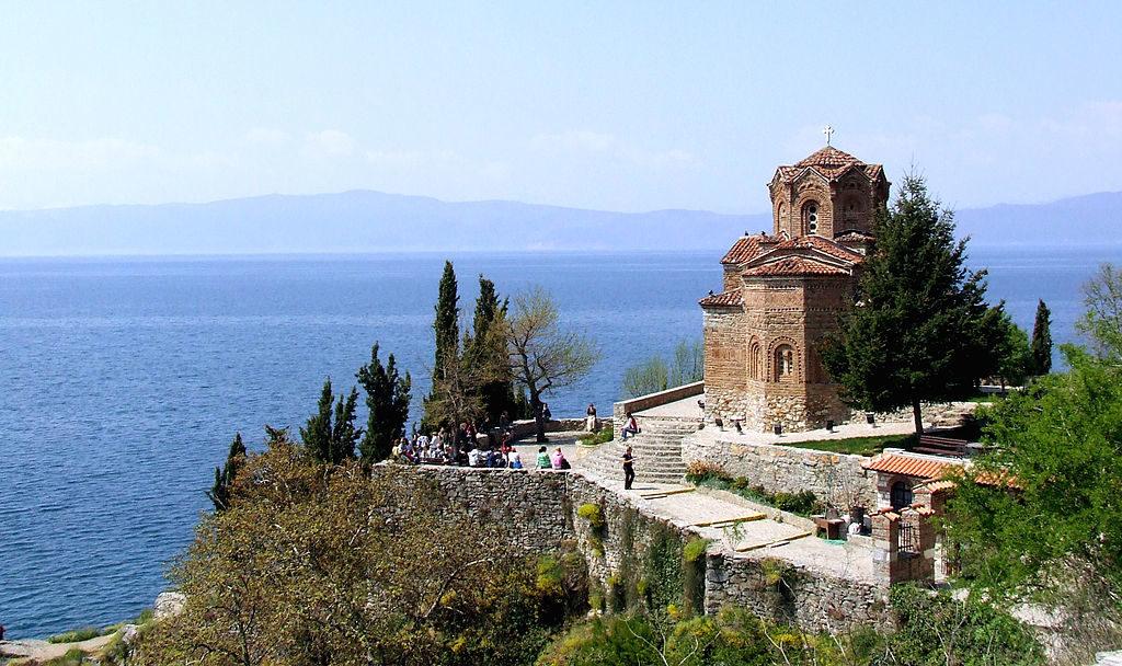 Ohridsko jezero. Vir: Wikimedia.