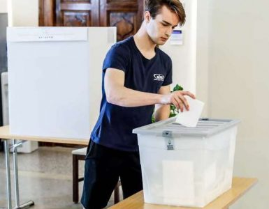 Parlamentarne volitve in rezultati volitev 2018. Foto: Stanko Gruden/STA