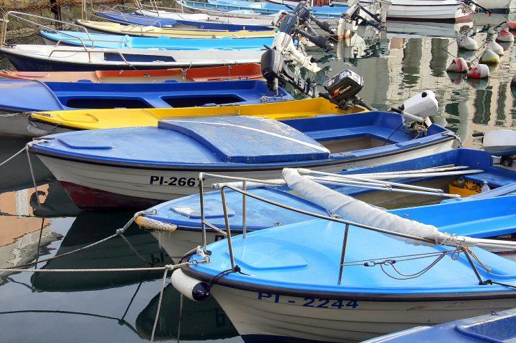 Oddih in ribiške barke. Foto: Barbara Kožar/Arhiv STO