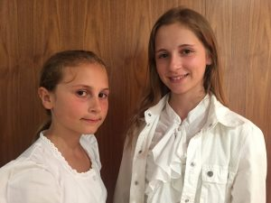 Juta in Liza Debeljak in Avstrija. Foto: Sonja Merljak/Časoris