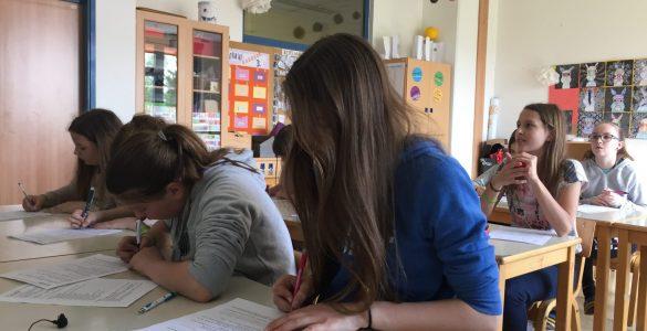 Tudi punce ne marajo brisati table. Foto: Sonja Merljak/Časoris