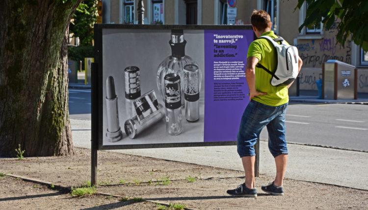 Razstava o intelektualni lastnini. Foto: Boštjan Lešnjak/URSIL