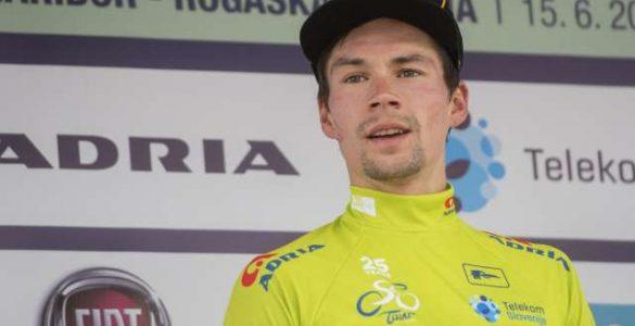 Primož Roglič je osvojil četrto mesto na Dirki po Franciji. Foto: Bor Slana/STA