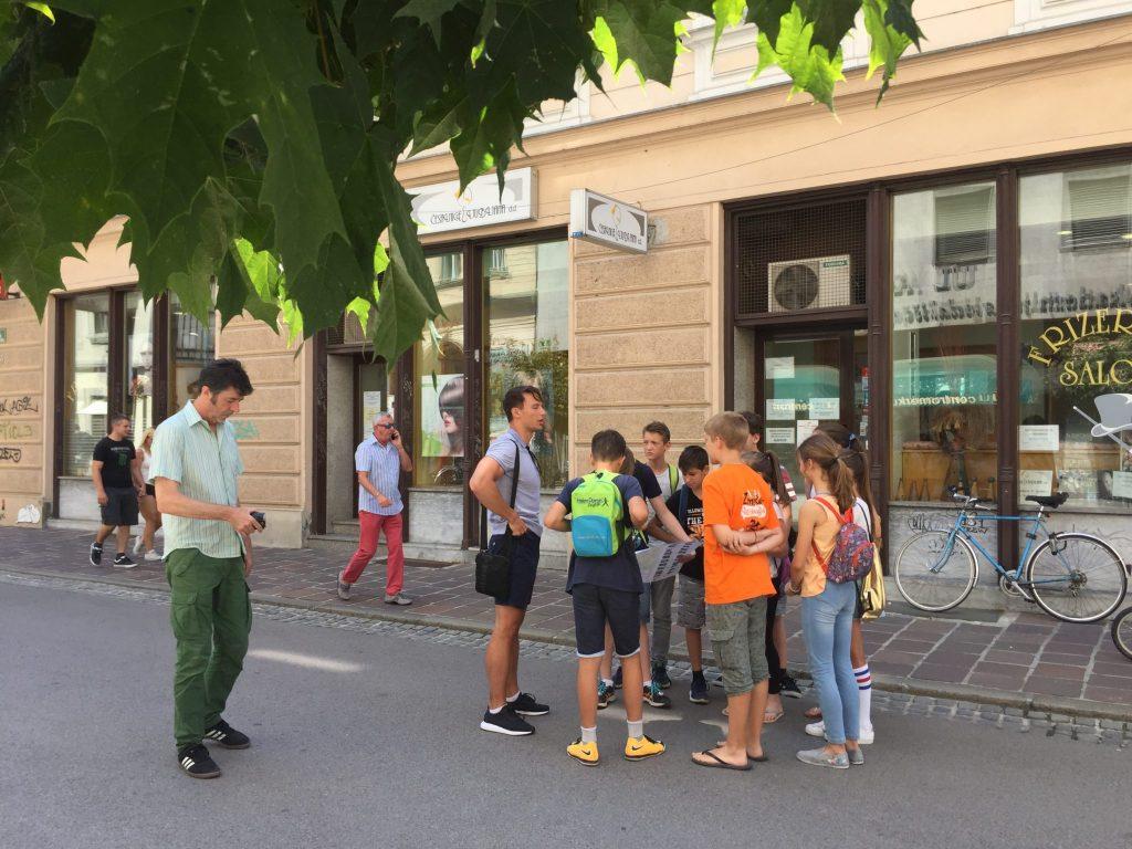 Franci Kek in snemanje skrite kamere. Foto: Sonja Merljak/Časoris