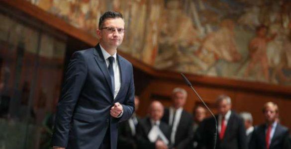 Prime minister Marjan Šarec. Photo: Anže Malovrh/STA
