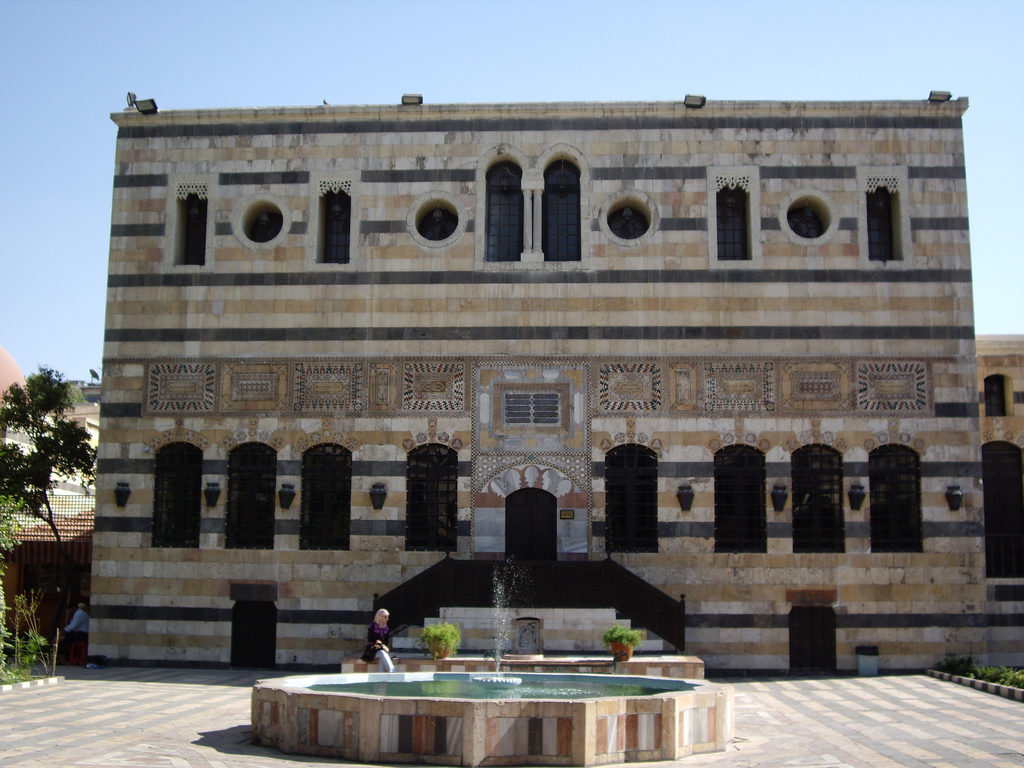 Palača Azem v Damasku. Viri: Wikipedia