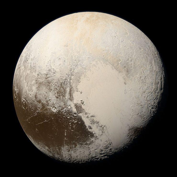 Planet Pluton. Vir: Wikipedia