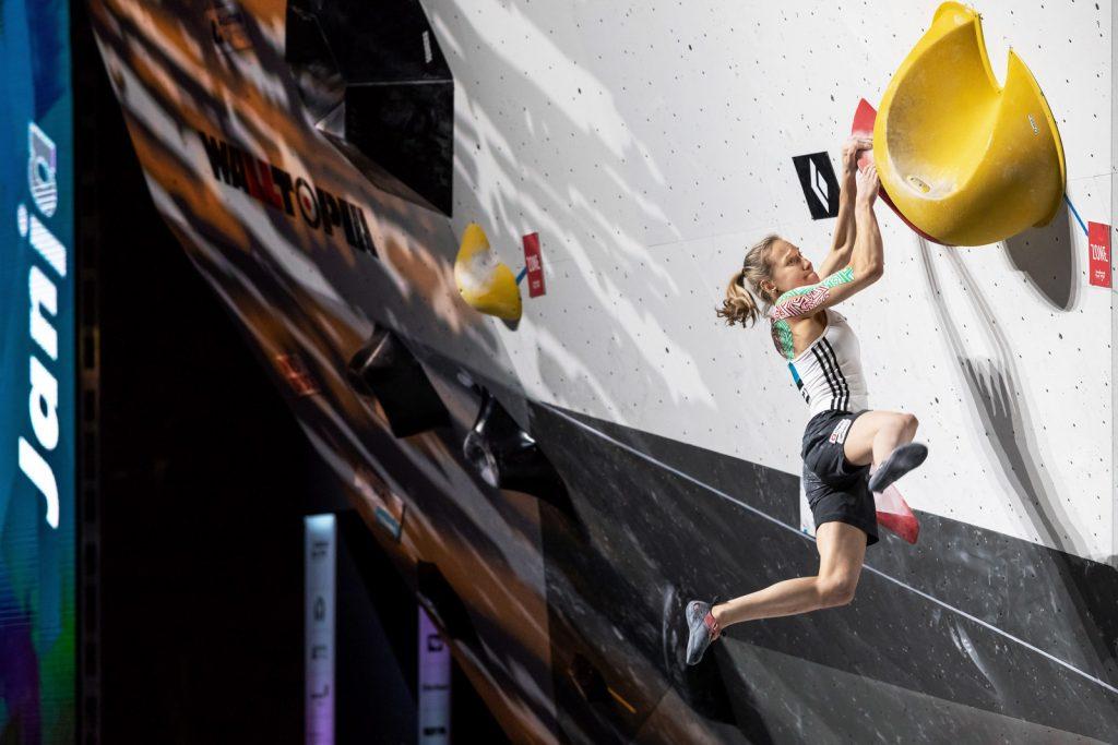 Športnica Janja Garnbret. Foto: Manca Čujež/Planinska zveza Slovenije