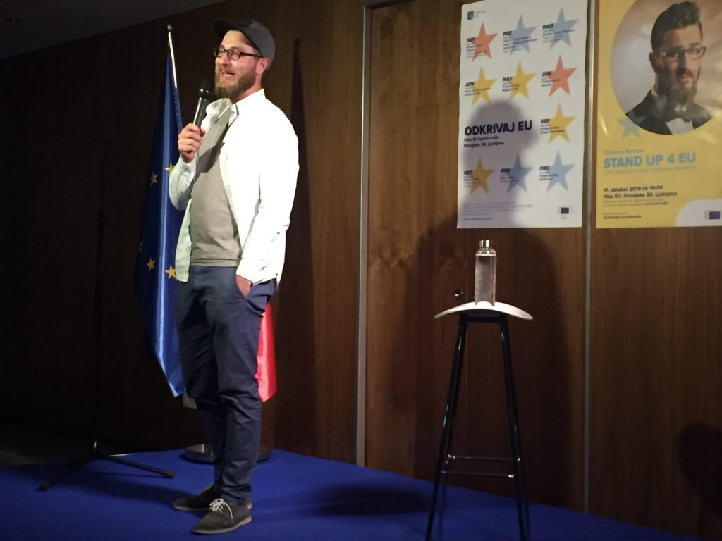 Stand up 4 EU. Foto: Sonja Merljak/Časoris