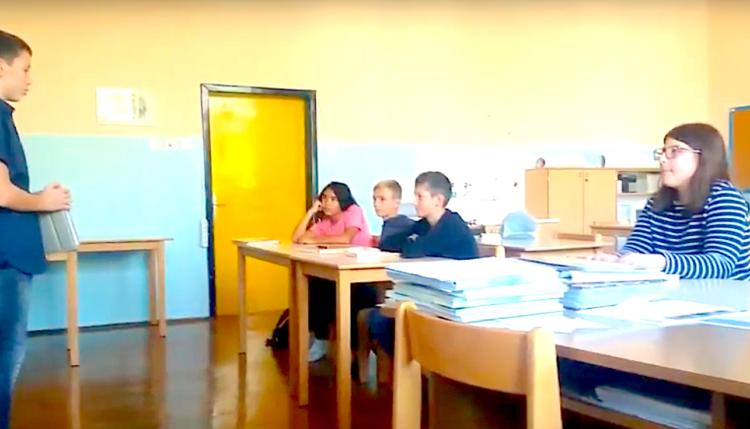 Zmagovalci natečaja odzivi na zgodbe otrok sveta. Vir: Arhiv OŠ Prebold