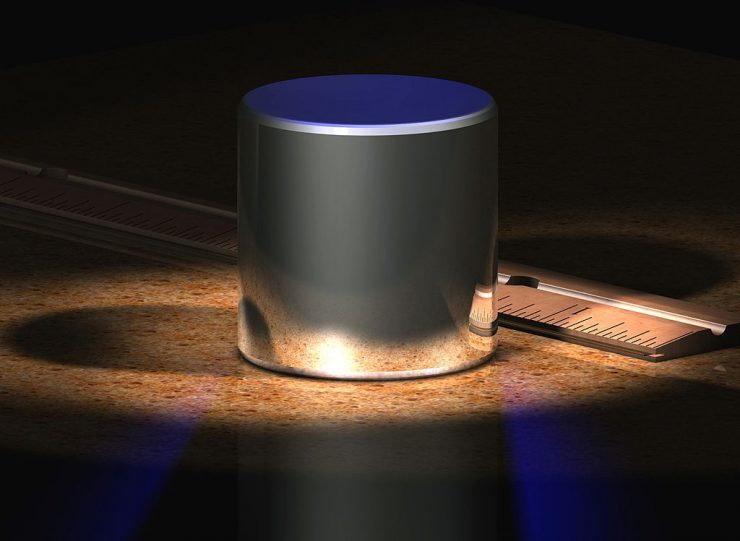 New kilogram. Credit: Wikimedia