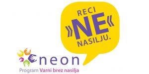 Neon, Reci ne nasilju. Vir: ISA insitut