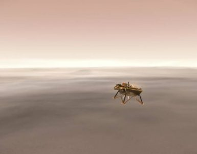 Insight na Marsu. Vir: Nasa/JPL-Caltech