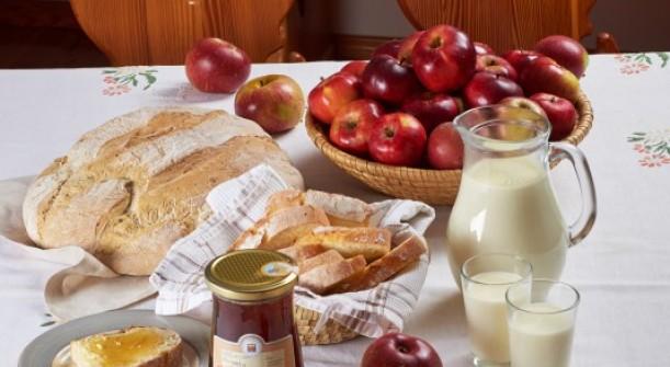 Slovenski zajtrk. Vir: Mizš