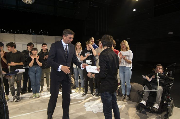 Podelitev priznanja Faca leta 2018. Foto: Maša Kores