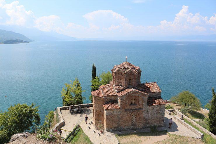 Ohridsko jezero. Vir: Pixabay