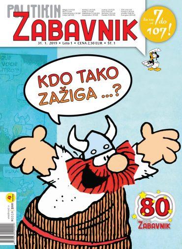 Politikin Zabavnik v slovenščini. Vir: Promocijsko gradivo