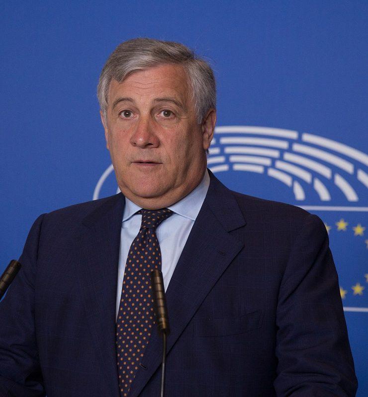 Antonio Tajani, predsednik evropskega parlamenta. Vir: Wikimedia