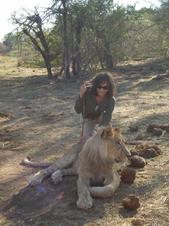 Tina Mušič v Afriki. Vir: Osebni arhiv
