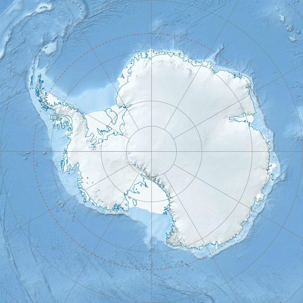 Jezero Mercer na Antarktiki. Vir: Alexrk2/Wikimedia