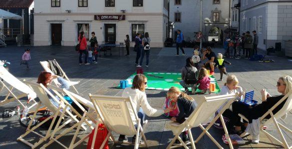 Mestno igrišče v Idriji. Foto: Tina Mervic