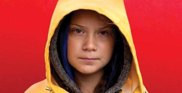 Vsi smo Greta Thunberg. Foto: Anders Hellberg/Effekt magazine