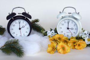 Premikanje ure. Vir: Pixabay