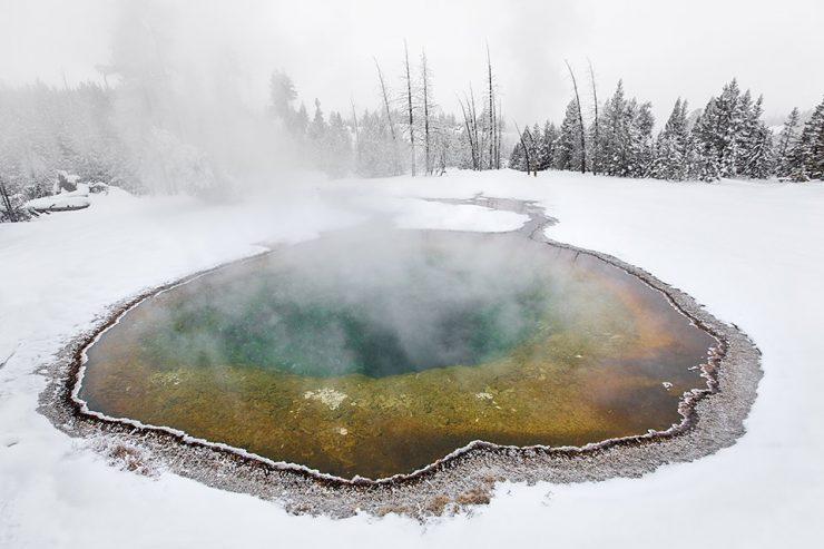 Termalni vrelec v parku Yellowstone. Vir: NPS