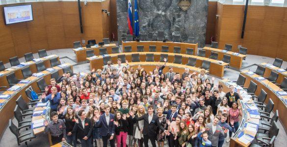 29. Nacionalni otroški parlament. Foto: Rok Dolenc/Arhiv ZPMS