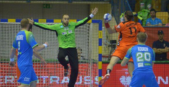 Zmaga proti Nizozemcem v Celju. Foto: Slavko Kolar/Rokometna zveza Slovenije