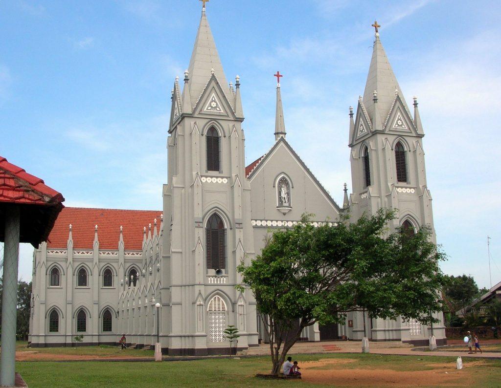 Cerkev Sv. Sebastjana v Negombu. Foto: Bernard Gagnon/Wikipedia