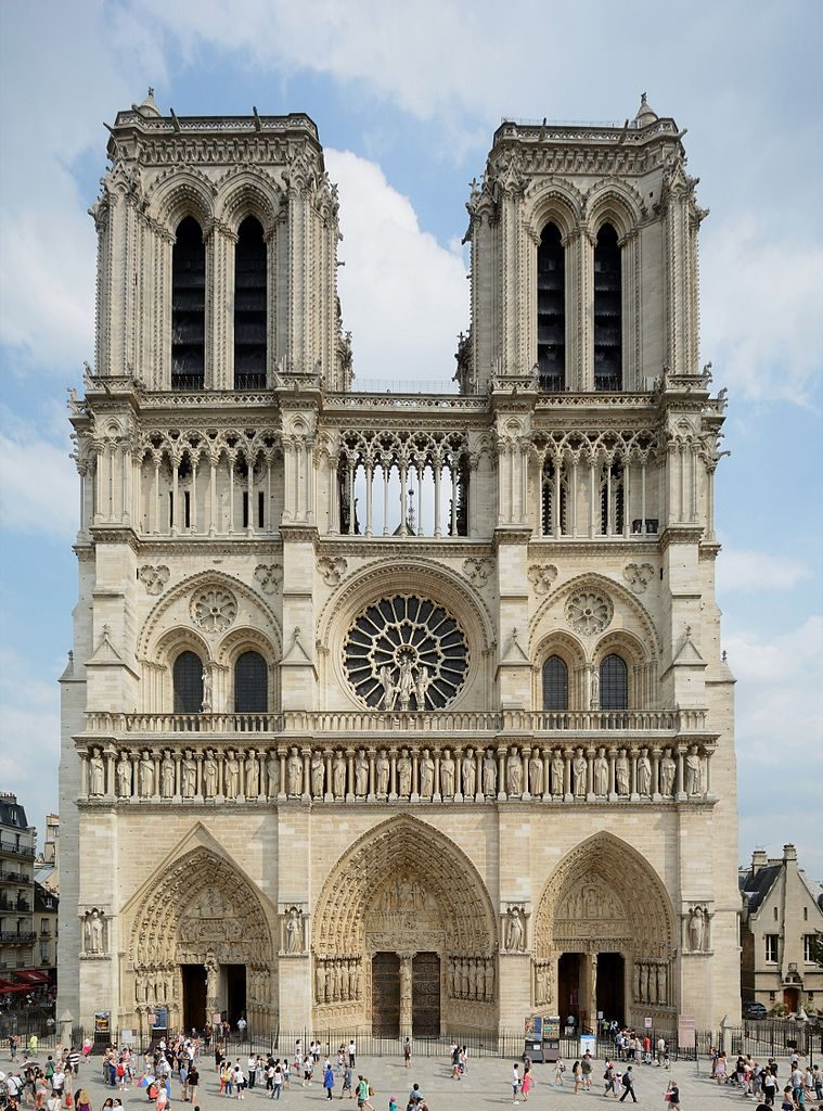 Katedrala Notre-Dame. Vir: Wikimedia