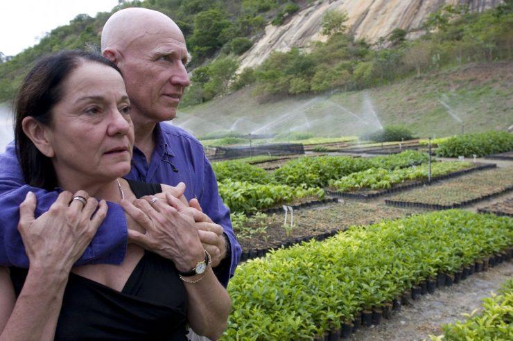 Sebastião Salgado in njegova žena. Foto:Ricaro Beliel/Instituto Terra