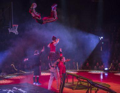 Dunking Devils v cirkusu Salto Natale. Foto: Rene Tanner/Arhiv skupine
