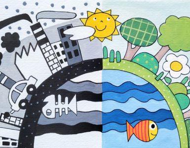 Rock za planet. Ilustracija: Urška Stropnik Šonc