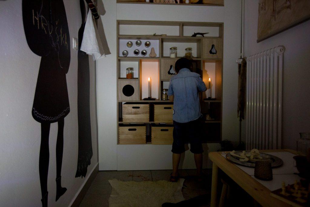 (Kras)na učilnica v Notranjskem muzeju. Vir: Arhiv muzeja
