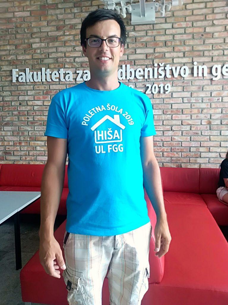 Vodja poletne šole dr. Tilen Urbančič. Foto: Lina Berlec