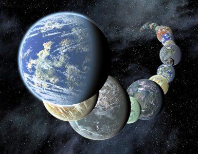 Zemlji podobni planeti v drugih galaksijah. Vir: NASA/JPL-Caltech