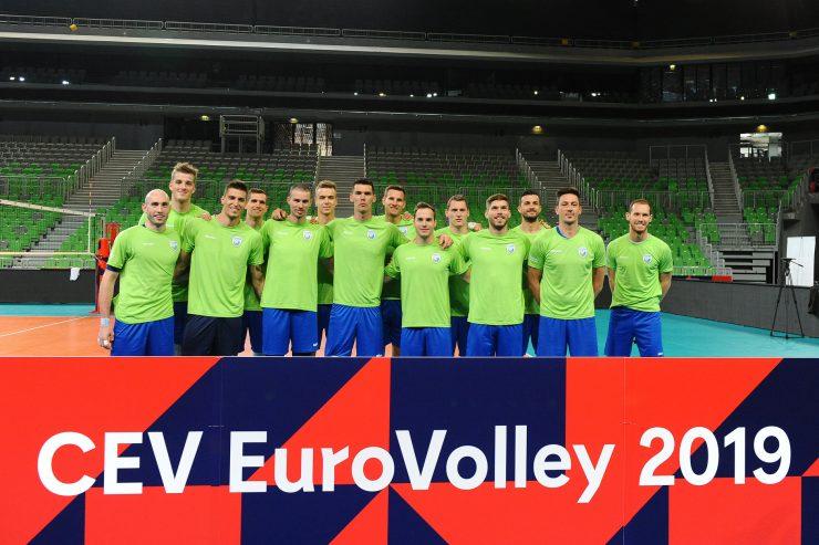 Med gostiteljicami evropskega prvenstva v odbojki je tudi Slovenija. Foto: Aleš Oblak/Odbojkarska zveza Slovenije