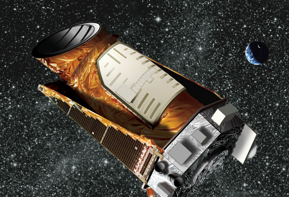 Kepplerjev teleskop. Foto: Wendy Stenzel/NASA/JPL-Caltech