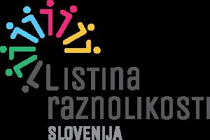 Logo Listina raznolikosti Slovenija