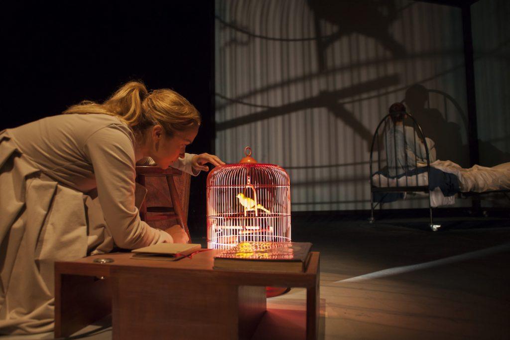 Prizor iz predstave Virginija volk. Foto: Urška Boljkovac/Arhiv festivala Zlata paličica